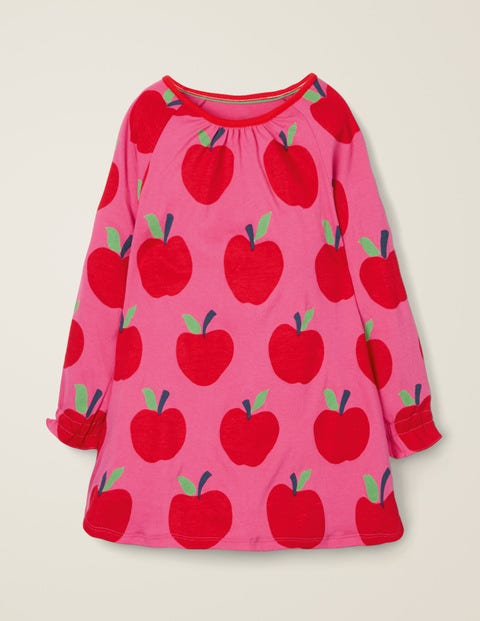 Printed Tunic - Pink Sorbet Apples