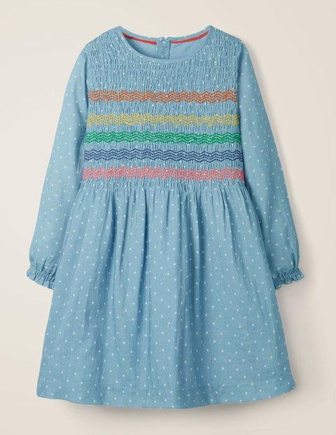 Printed Smock Dress