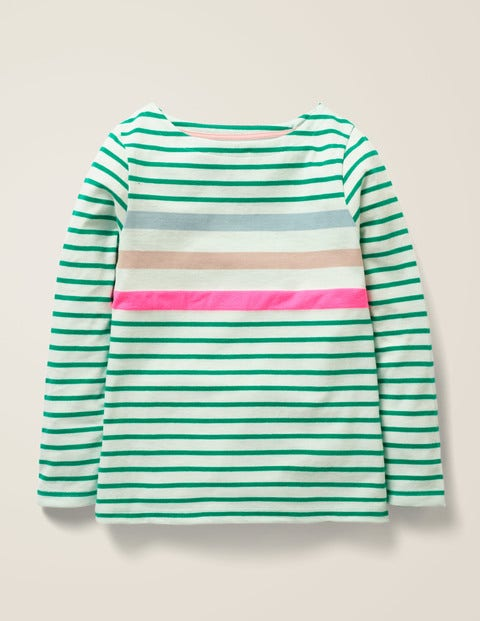 Everyday Breton - Hike Green Multi Stripe