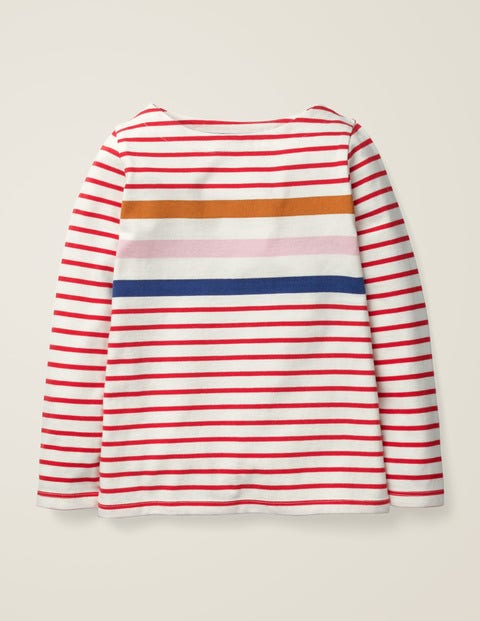 Everyday Breton - Poppadew Red Multi Stripe