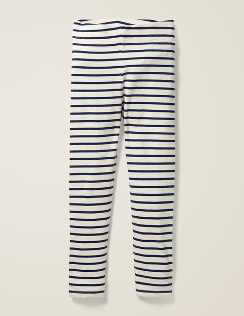 Fun Leggings - Ecru/School Navy