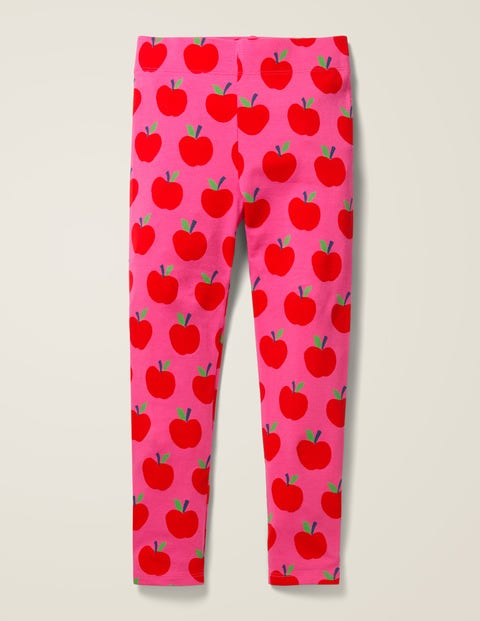 Fun Leggings - Pink Sorbet Apples