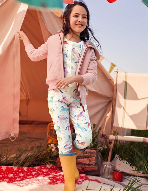 Cosy All-In-One Pajamas - Multi Unicorns