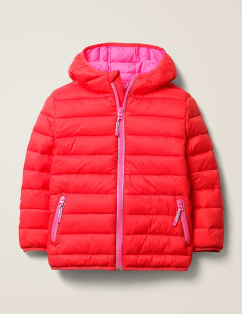 Pack-Away Padded Jacket - Carmine Red
