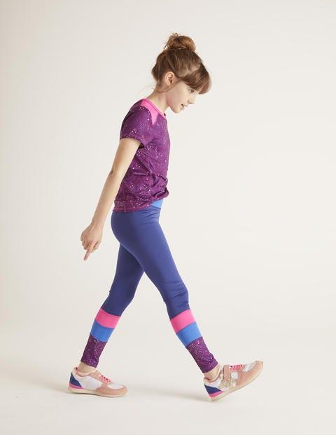 Active Leggings - Starboard Blue