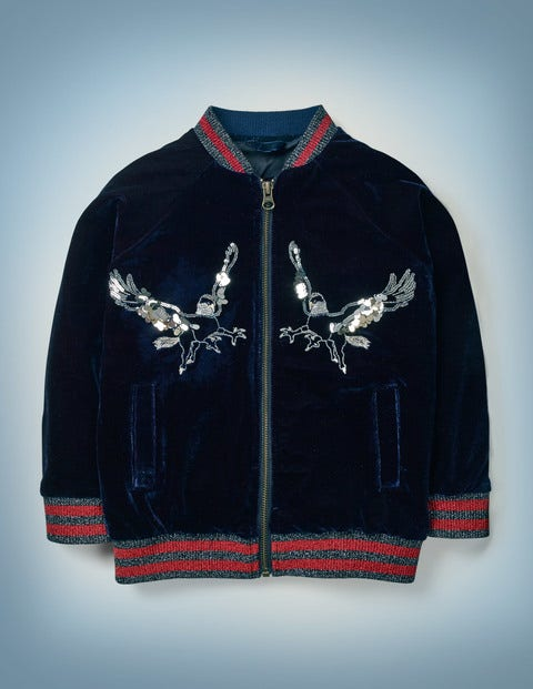 Hippogriff Bomber Jacket - Midnight Blue