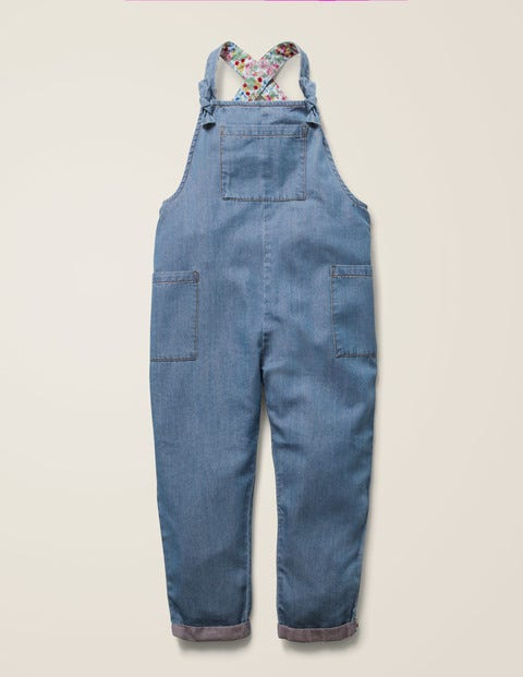 Relaxed Overalls - Chambray