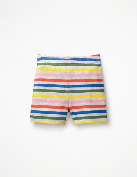 Jersey Shorts - Grey Marl Rainbow
