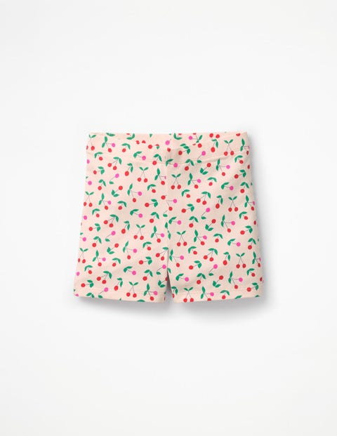 Jersey Shorts - Parisian Pink Cherries