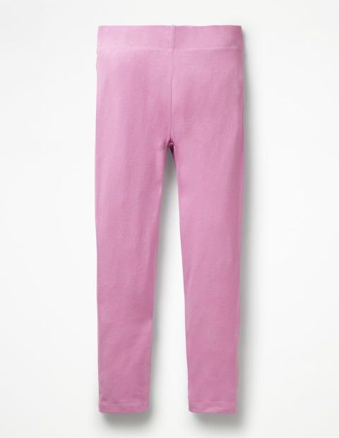 Plain Leggings - Lilac Pink