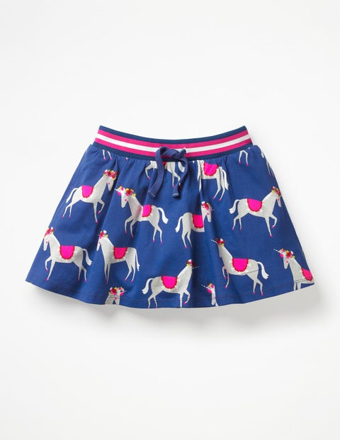 Jersey Skort - Blue Wave Festival Unicorns