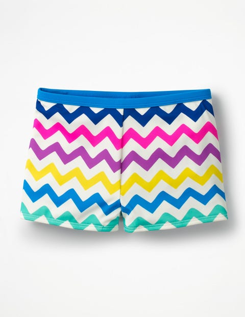 Swim Shorts - Rainbow Chevron