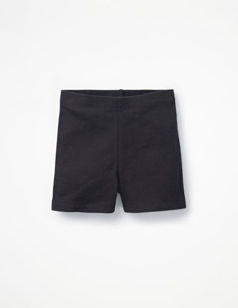 Plain Jersey Shorts - Black