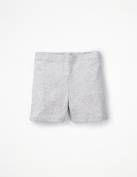 Plain Jersey Shorts - Grey Marl