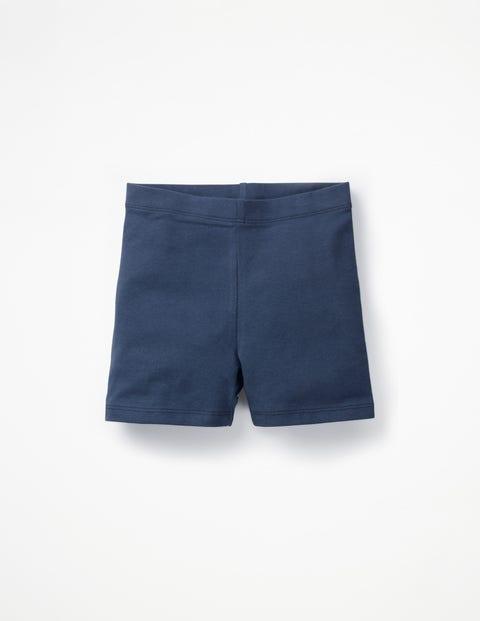 Plain Jersey Shorts - Navy