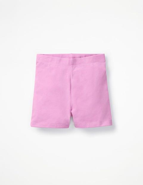 Einfache Jersey-Shorts - Fliederrosa