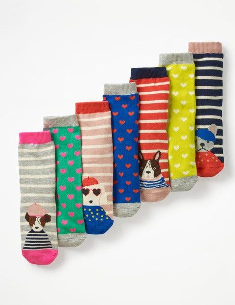 7 Pack Sock Box