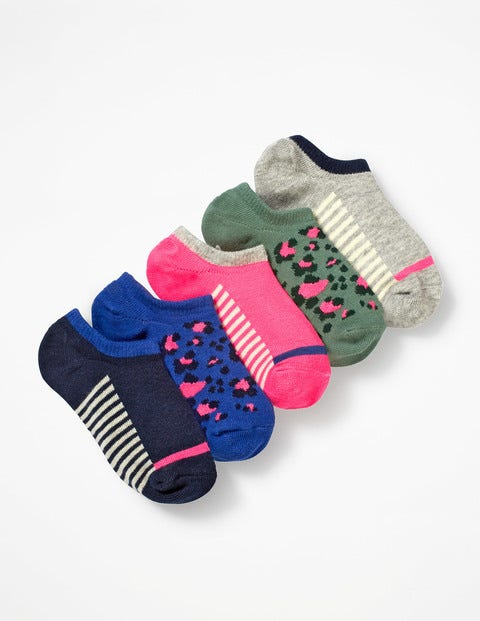 5 Pack Secret Socks - Multi