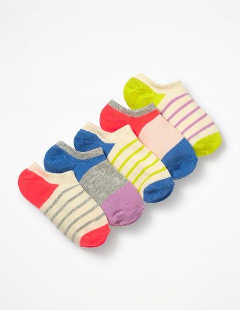 5 Pack Secret Socks - Multi Stripe