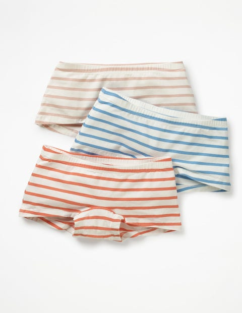 3 Pack Shorties - Multi Stripes