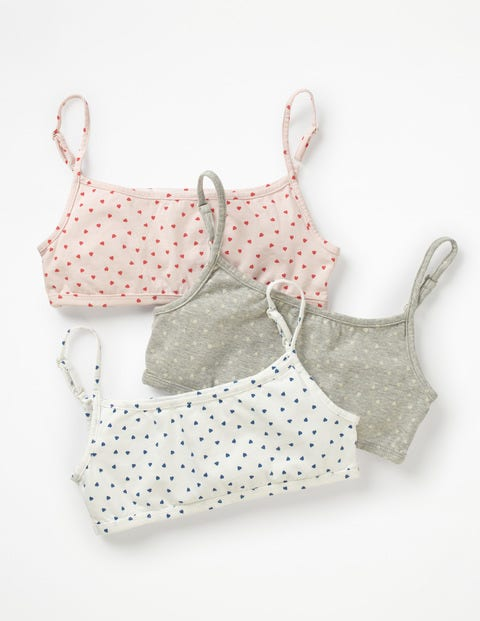 3 Pack Crop Tops - Sweet Heart
