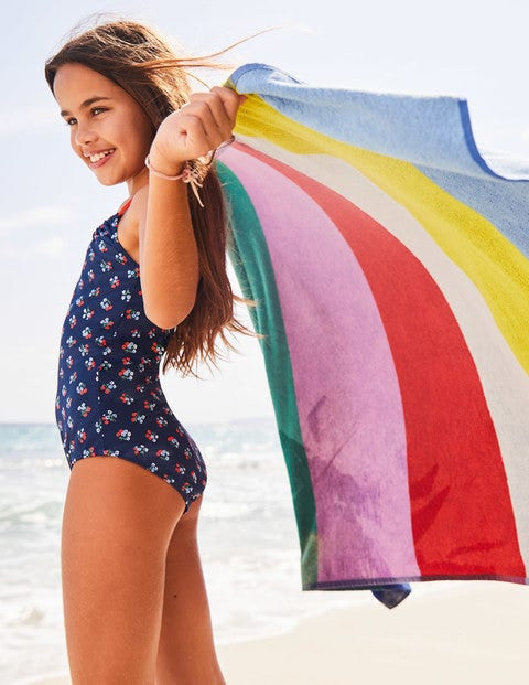 Strandhandtuch - Regenbogen
