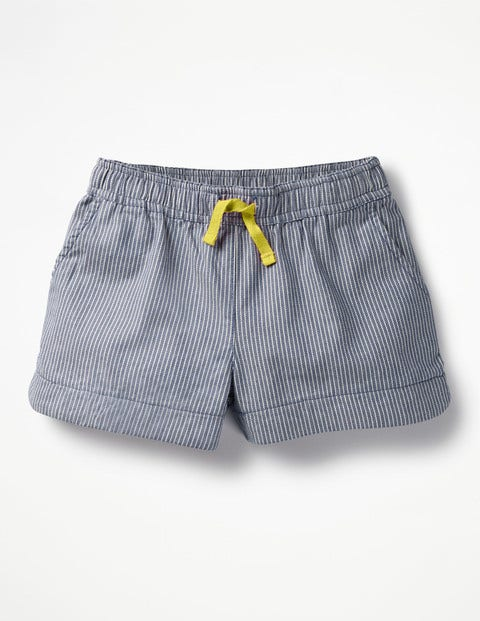 Heart Pocket Shorts - Skipper Stripe