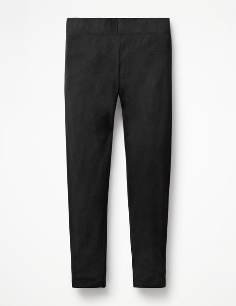 Plain Leggings - Black
