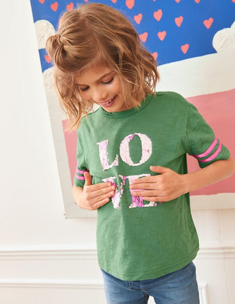Love T-Shirt - Rosemary Green Love