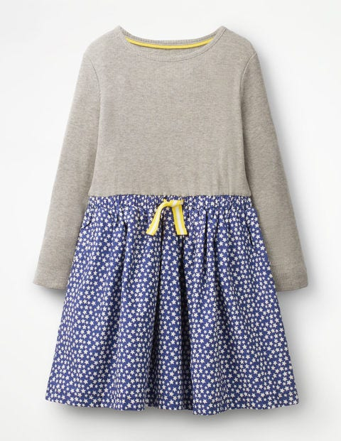 Hotchpotch Dress - Starboard Blue Stars