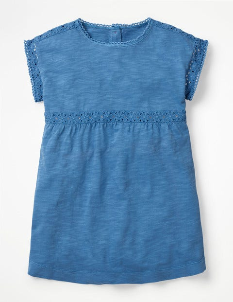 Haut En Jersey Teint En Pièce - Bleu élisabéthain