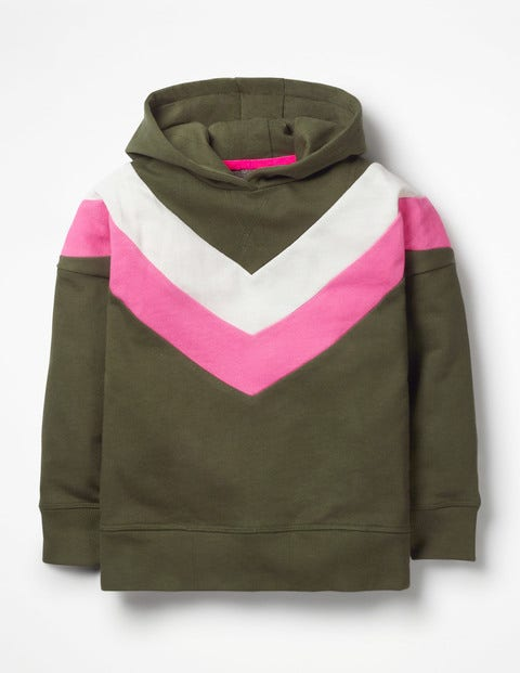 Slouchy Cosy Hoodie - Army Green