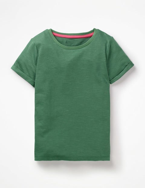 Slub T-Shirt - Rosemary Green