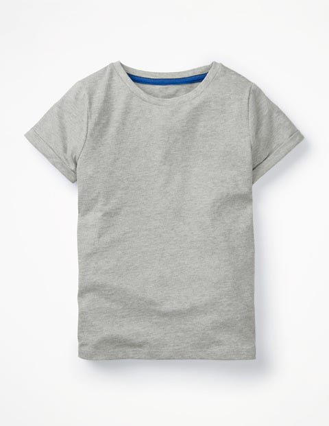 Slub T-Shirt - Grey Marl