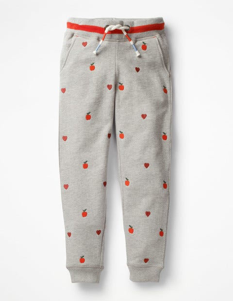Detailed Joggers - Grey Marl Apples