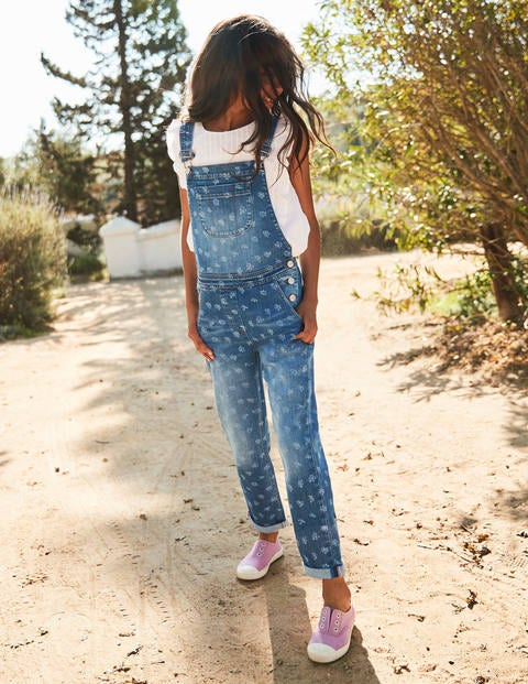 Fun Dungarees - Mid Vintage Posy