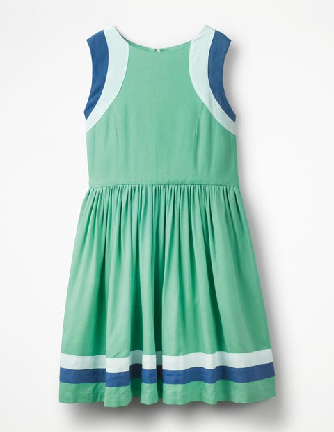 Sporty Woven Dress - Jungle Green