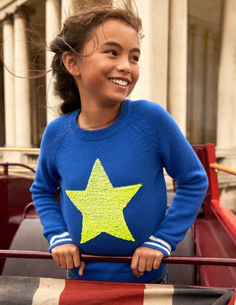 Happy Days Jumper - Duke Blue Star