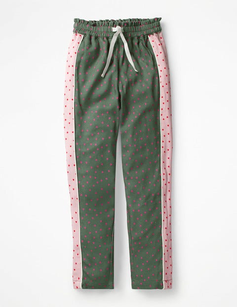 Hotchpotch Trousers - Khaki Green Sweet Hearts