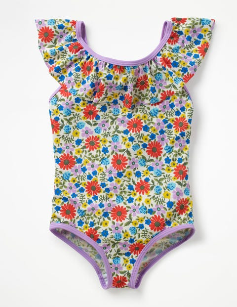 Frilly Swimsuit - Multi Jolly Floral