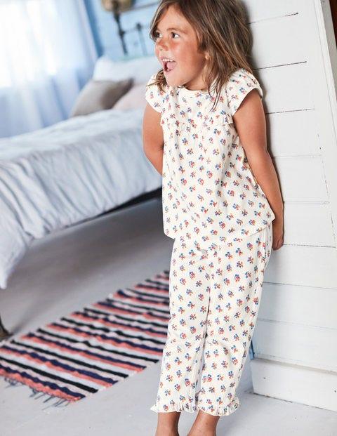 Pretty Pyjamas - Ivory Vintage Posy