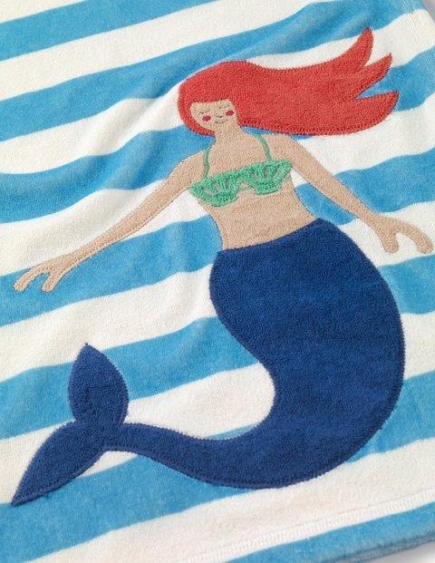11a1ef3a26aea Fun Towelling Beach Dress - Ivory Mermaid Stripe   Boden EU