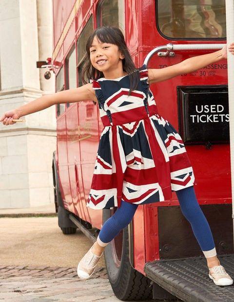 Robe Mini Jack - Motif Union Jack bleu marine