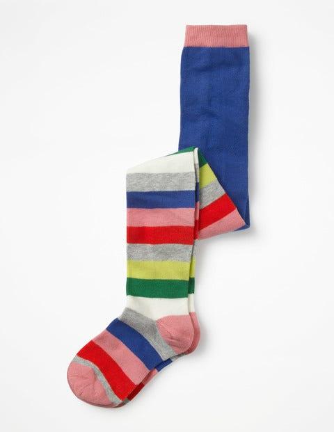 Patterned Tights - Sporty Multi Stripe