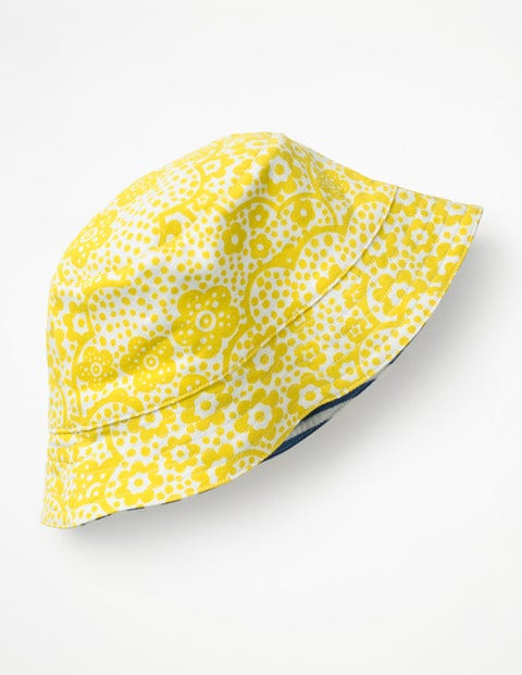 Jersey Reversible Hat - Sunshine Yellow