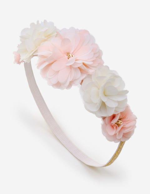 Flower Headband - Ecru