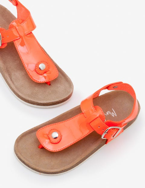 Thong Sandals - Fluoro Coral