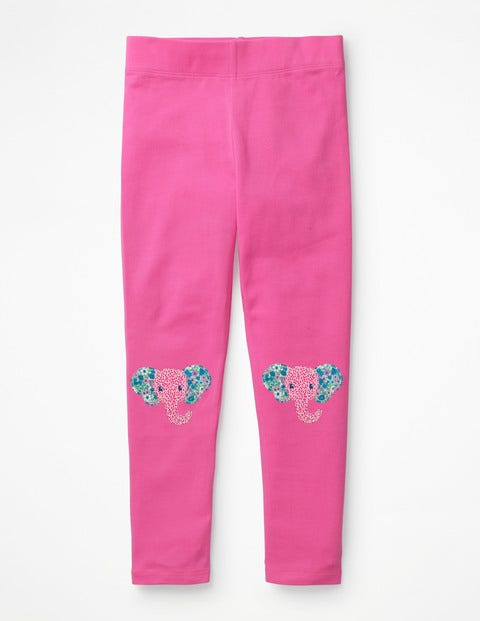 Appliqué Leggings