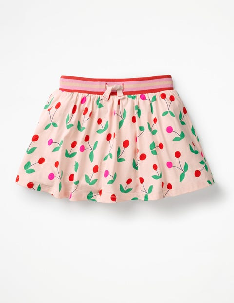 Jersey Skort - Parisian Pink Cherries