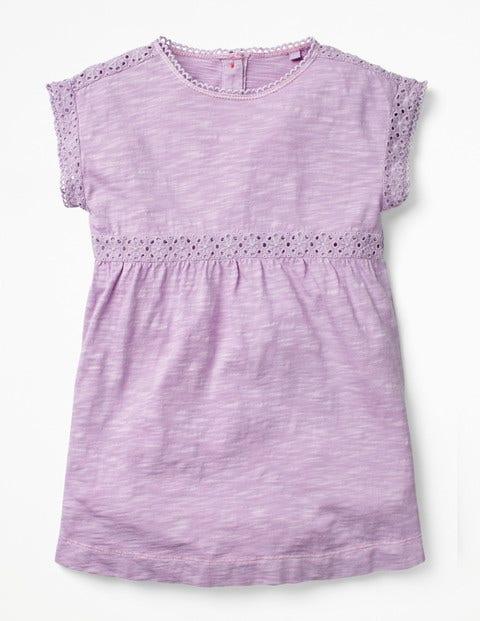 Garment Dye Jersey Top - Lilac Pink